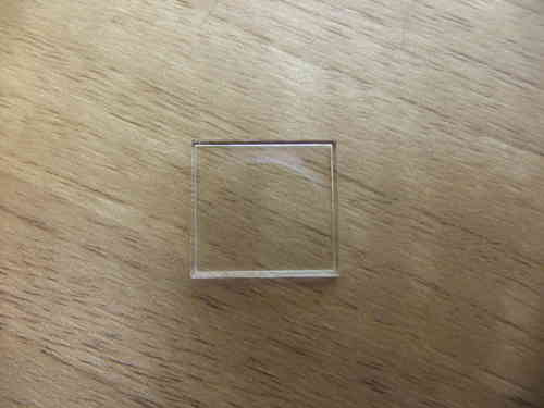 ACRYLIC WALLED UB - RECTANGLE - SITS FLAT - 22.0MM X 15.5MM