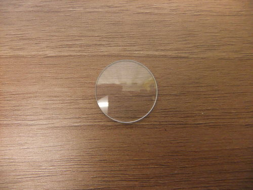 Round Glass 18.5mm - .75mm Thick