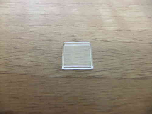 TINY RECTANGLE - CURVED SURFACE - WALLED - 9.8MM X 8.9MM
