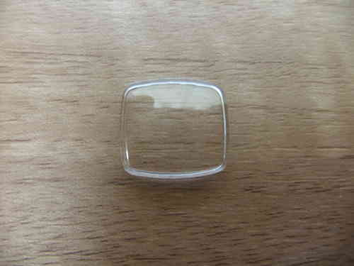 RECTANGLE ACRYLIC UB - WALLED - CURVED & RND'D - 17.05MM X 15.0MM