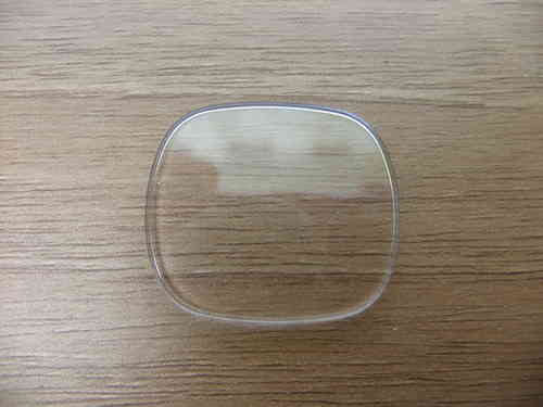 RECTANGLE UB - CURVED SIDES - LOW GLASS - WALLED - BEZ - 29.05MM X 25.05MM - GB798