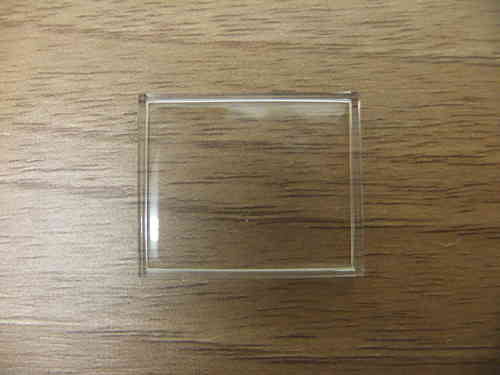 ACRYLIC WALLED UB - RECTANGLE - SITS FLAT - 25.02MM X 20.05MM - CF919