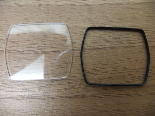 SHAPED GLASS - 1.4MM THICK - 29.9MM X 24.4MM - GB607