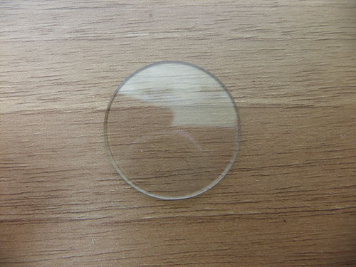 GLASS ROUND - 26.9MM - .75MM THICK