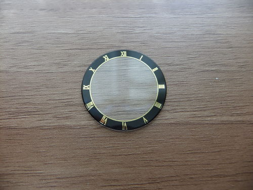 ROUND GLASS - ROMAN NUMERAL'S - 22.7MM